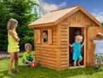 Drewniany domek ogrodowy dla dzieci Fungoo MyPlace