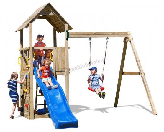 Drewniany plac zabaw dla dzieci do ogrodu Fungoo Carol 2