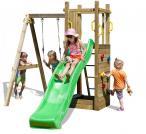 Huśtawka ze zjeżdżalnią do ogrodu Fungoo Funny 3