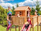 Duży plac zabaw dla dzieci do ogrodu Maxi Spider Land