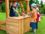 Plac zabaw z huśtawkami do ogrodu Fungoo Maxi Playbox