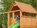 Drewniany plac zabaw ścianki wspinaczkowe Maxi Fun Gym