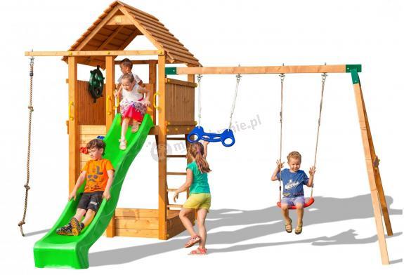 Huśtawki do ogrodu dla dzieci Fungoo Fortress Move
