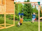Plac zabaw drewniany zjeżdżalnia ślizg Kingdom Move+