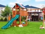 Plac zabaw drewniany zjeżdżalnia ślizg Paradise Move