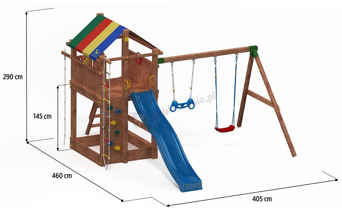 Plac zabaw dla dzieci - wymiary