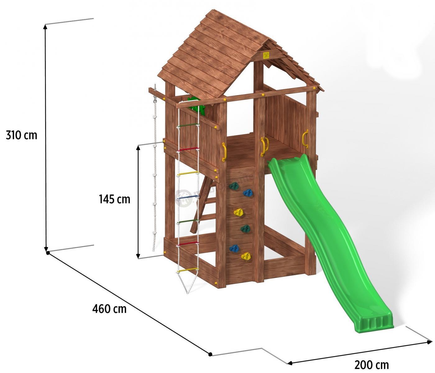 Domek dla dzieci wymiary