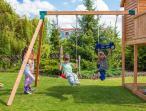 Plac zabaw dla dzieci z drewnianym domkiem My Space XL Move