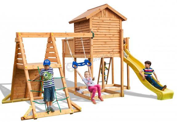 Mały plac zabaw dla dzieci do ogrodu MySide Spider