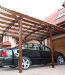 Garaż jednostanowiskowy Brema z zadaszeniem PC 3,5x5,5m