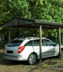 Garaż pojedynczy z dachem z blachy Stuttgart 4,5x5m