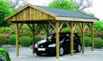 Garaż pojedynczy do samodzielnego montażu Lipsk 3x6m
