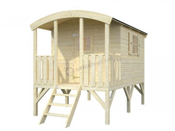 Domek drewniany dla dzieci EKO 95 180x203cm (3,3 m2)