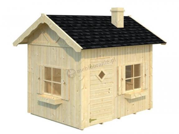 Domek ogrodowy dla dzieci NATALIA 233x175cm (3,7 m2)