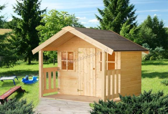 Domek do ogrodu dla dzieci RÓŻA 180x180cm (1,9 m2)
