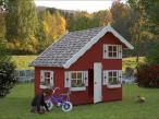 Domek ogrodowy drewniany ULA 220x180cm (3,8 m2)