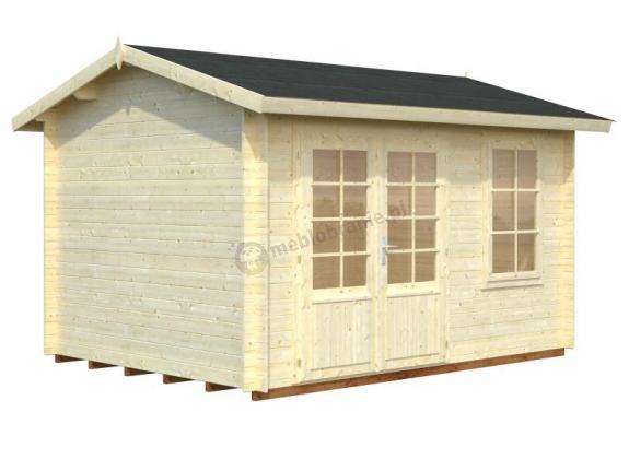 Domek ogrodowy drewniany JAREK A 3x4 (9,6 m2)