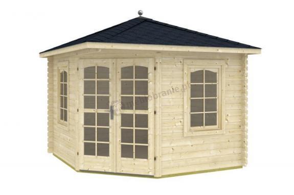 Domek drewniany ogrodowy CYRANECZKA B 3x3 (7m2)