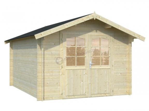 Domek na działkę ogrodową ANDRZEJ B 3x4 (10,0 m2)