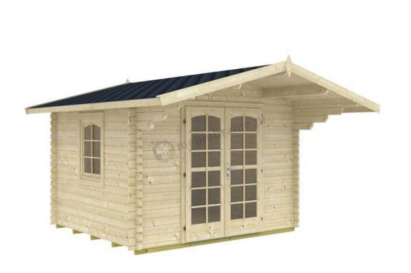 Letniskowy domek ogrodowy drewniany KULIK B 3x3 (8,5m2)