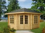 Drewniany domek letniskowy BASIA B 3,5x3,5 (9,6 m2)