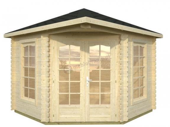 Domek ogrodowy drewniany na działkę EKO 27 3x3 (7,5 m2)