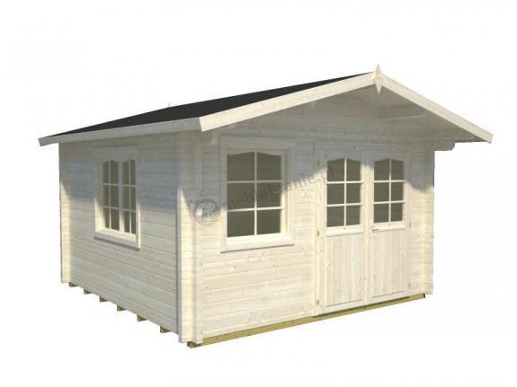 Drewniany domek na działkę rekreacyjną EKO 127 4x4 (12,1 m2)