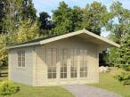 Domek drewniany na działkę ogrodniczą EKO 42 4x4 (12,4 m2)