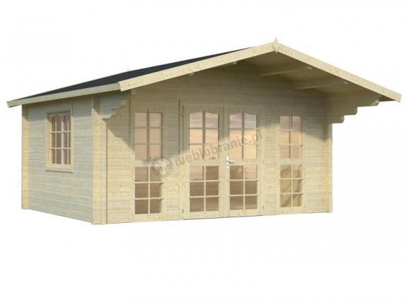 Domek na działkę rekreacyjną EKO 50 5x4 (15,1 m2)