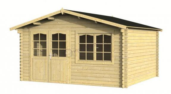 Mały domek letniskowy z drewna EKO 147 4x4 (13,5 m2)