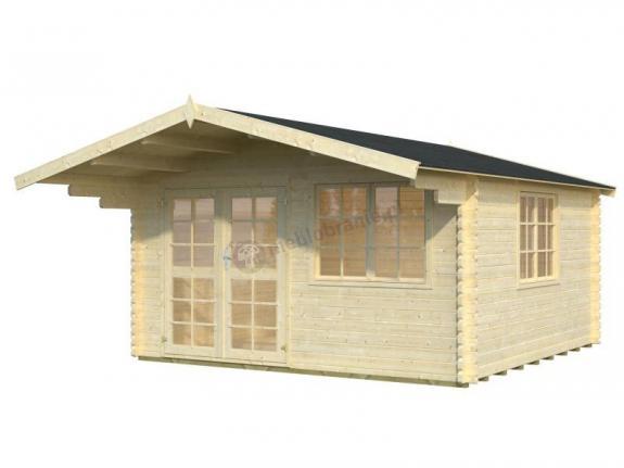 Domek drewniany na działkę letniskową EKO 45 5x4 (17,8 m2)