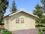 Drewniany domek na działkę ogrodową EKO 37 4,5x3 (11,1 m2)