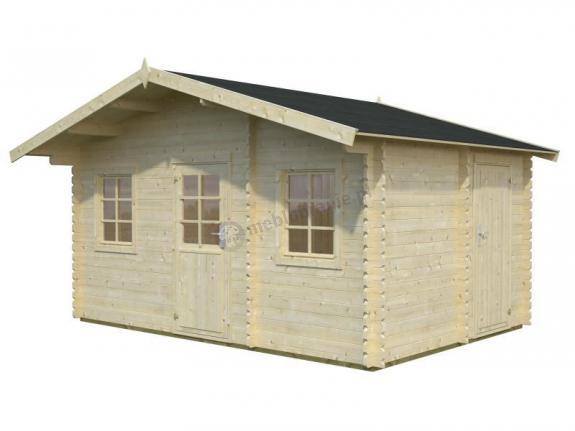 Drewniany dom na działkę rekreacyjną EKO 136 4,5x3 (12,2 m2)