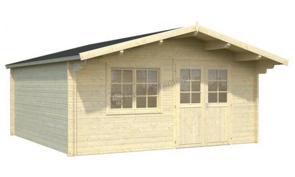 Domek letniskowy z drewna MARCIN D 5x5 (22,3 m2)