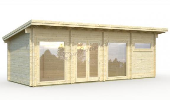 Drewniany domek letniskowy PATRYK B 8,5x3 (22,8 m2)
