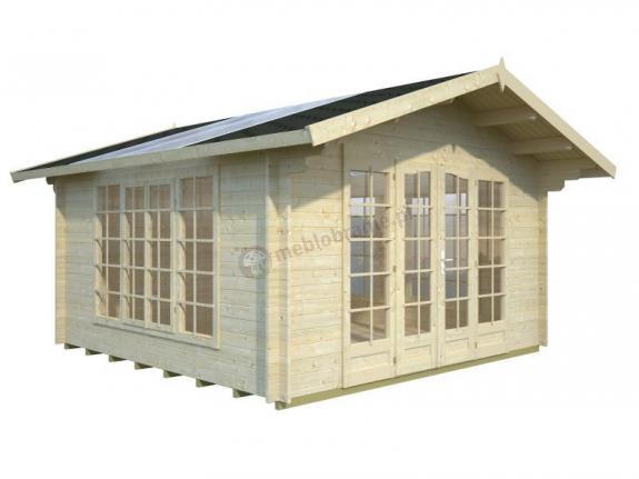 Domek na działkę rekreacyjną KUBA A 4x4 (13,9 m2)