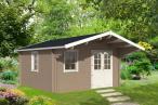 Mały domek z drewna na działkę ogrodową RUDZIK A 6x4 (17,6m2)