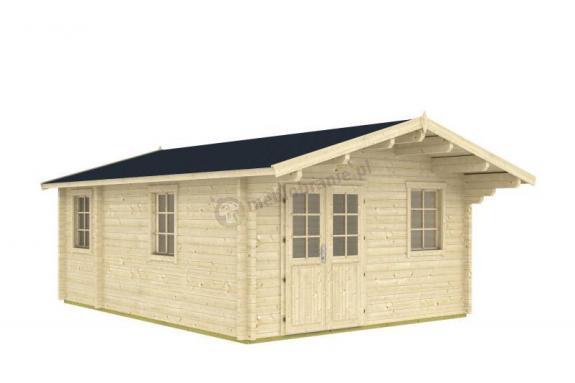 Domek z drewna letniskowy RUDZIK D 7x4,5 (24m2)