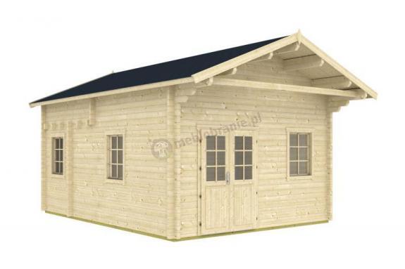 Drewniany domek na działkę rekreacyjną RUDZIK F 7x4,4 (24m2)