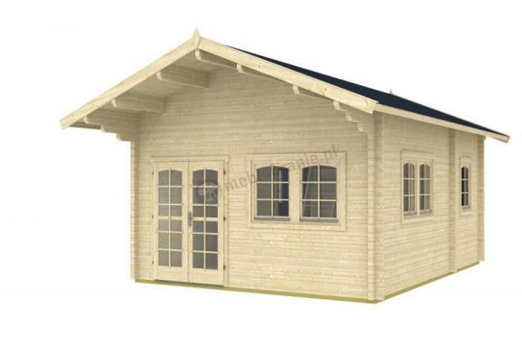 Wygodny domek na działkę rekreacyjną SOKÓŁ 4,5x6 (22,8m2)