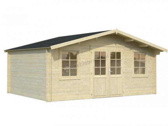 Domek na działkę letniskową TOMASZ C 5x4 (17,0 m2)