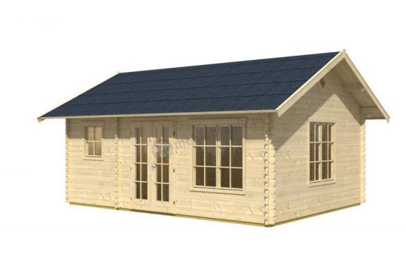 Domek letniskowy z drewna na działkę ESBJERG 2 4,5x6 23,5 m2