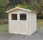Domek narzędziowy z drewna Ognik 266x266