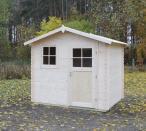 Domek z drewna na działkę Margaretka 266x216