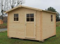 Drewniany domek na działkę rekreacyjną Hiacynt 316x316