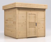 Domek z drewna letniskowy na działkę Malwa