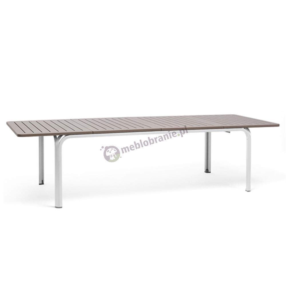Nardi stół ogrodowy Alloro 210 Tortora/Bianco