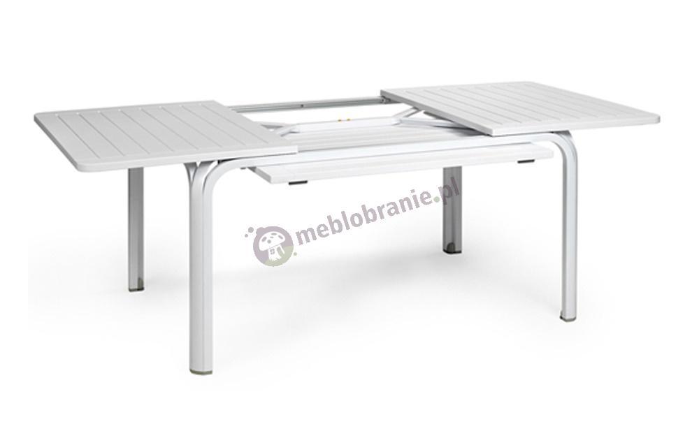 Nardi stół ogrodowy rozkładany Alloro 140 Bianco/Bianco