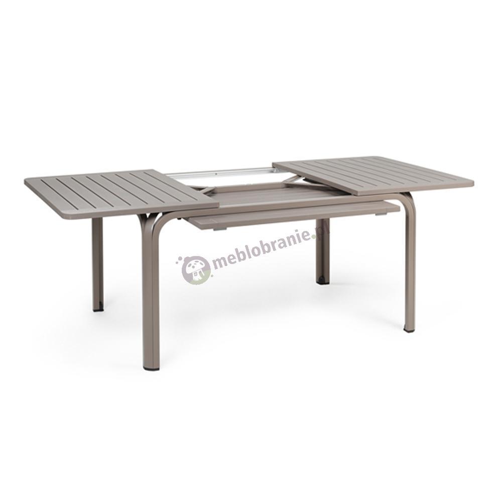 Nardi rozkładany stół do ogrodu Alloro 140 Tortora/Tortora