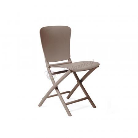 Nardi składane krzesło ogrodowe Zac Classic Tortora